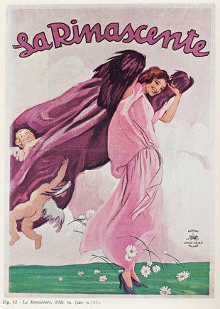 """Anno: 1921 Soggetto: """"La Rinascente"""" - Stampa Star – Igap, Milano Provenienza: Raccolta Salce, Museo Bailo, Treviso"""