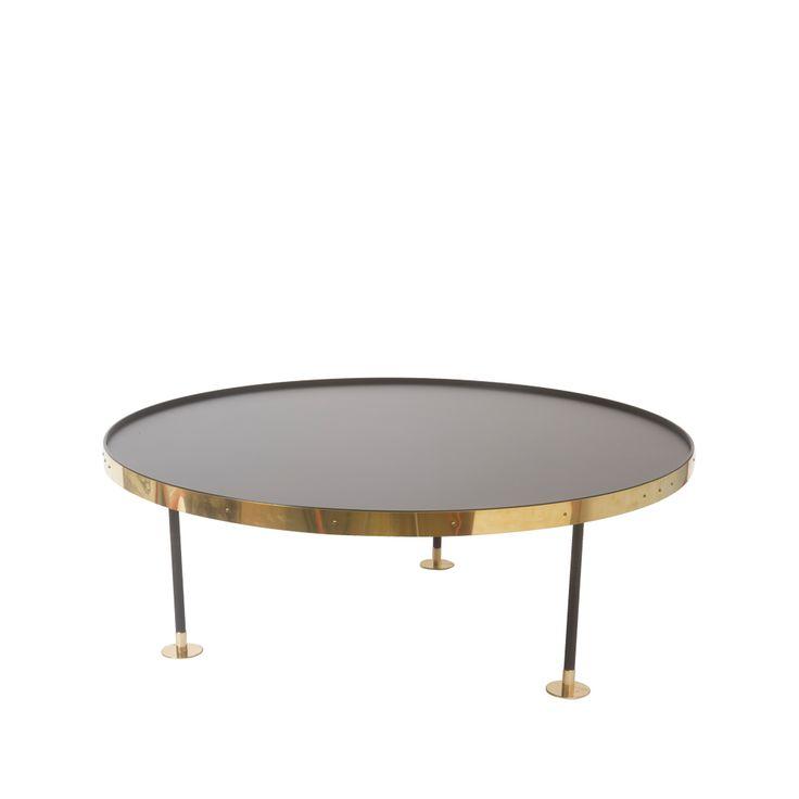 Soffbord 12 - Soffbord 12 - svart/mässing 12.400 kr