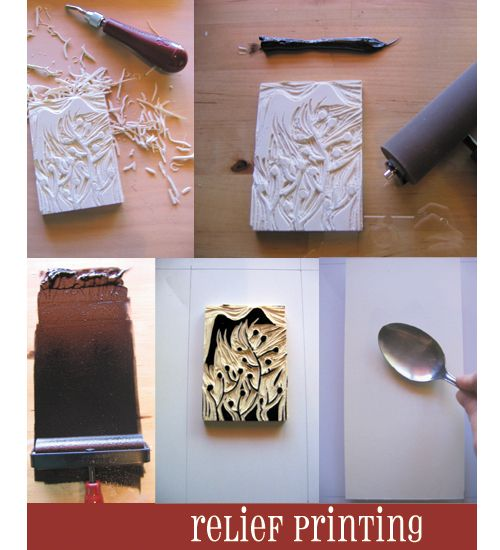 How to with poly block/lino/wood