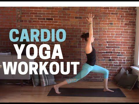 Yoga High Intensity Cardio Workout! Yoga HIIT Workout - YouTube
