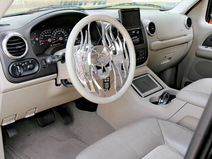 ford excursion custom interior not the steering wheel but the