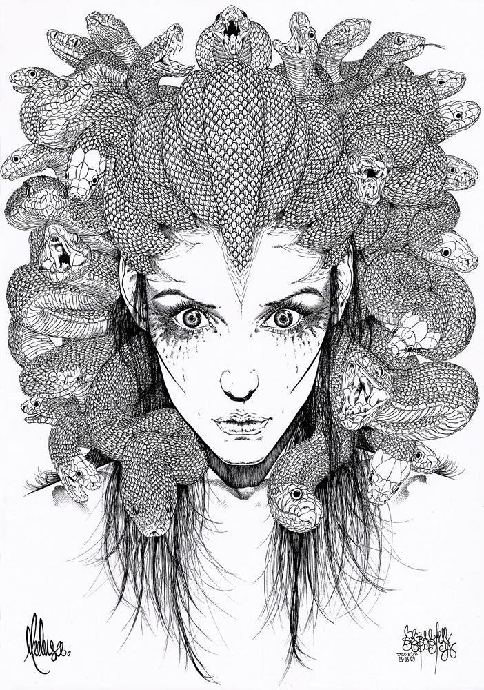 Gorgona Medusa By Garnabiuthdeviantartcom On deviantART