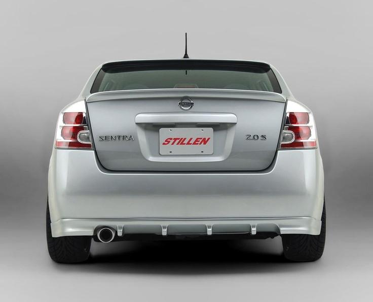 Stillen 2007 Nissan Sentra rear wing.