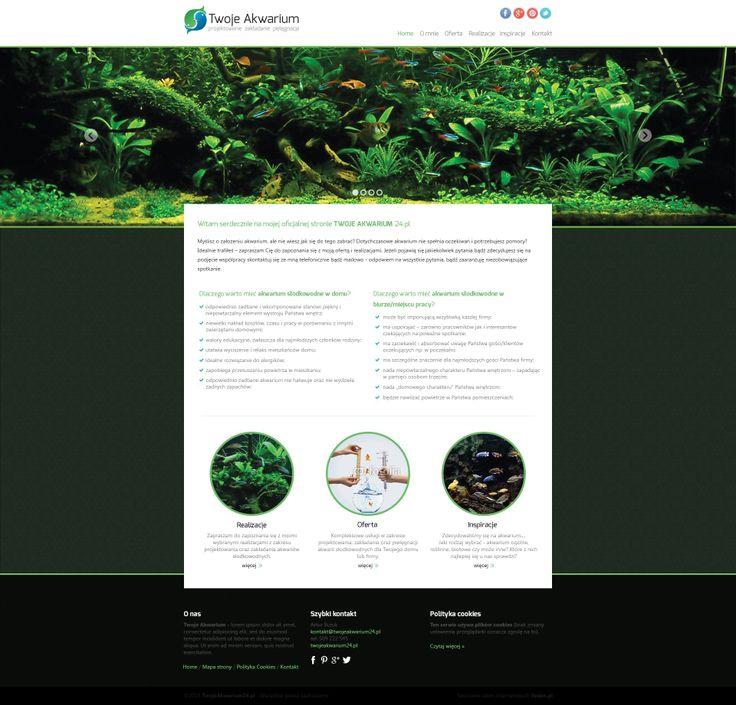 Jeżeli komuś z was marzy się piękne, zadbane i idealnie wkomponowane w dostępną przestrzeń akwarium słodkowodne - polecamy http://twojeakwarium24.pl/.   Szczegóły realizacji jak zawsze znajdziecie na naszej stronie www - http://www.veden.pl/realizacje/strona-www-cms-twojeakwarium24-pl/