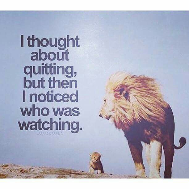 I Thought About Quitting Motivation Quot Flow