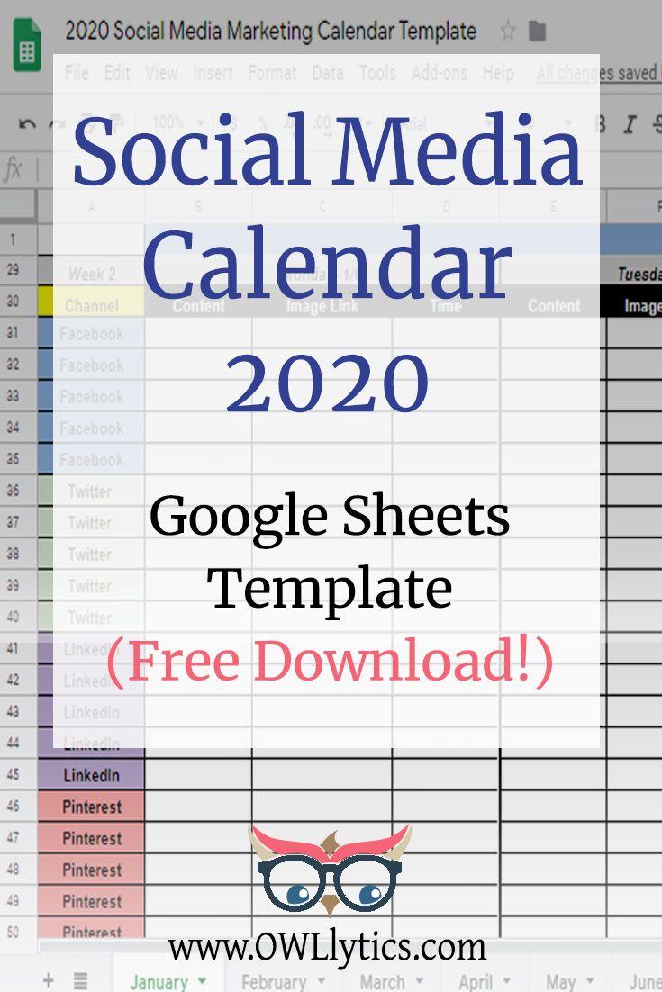 Free Printable Social Media Calendar Heather Jones Creative Social Media Calendar Social Media Infographic Marketing Strategy Social Media