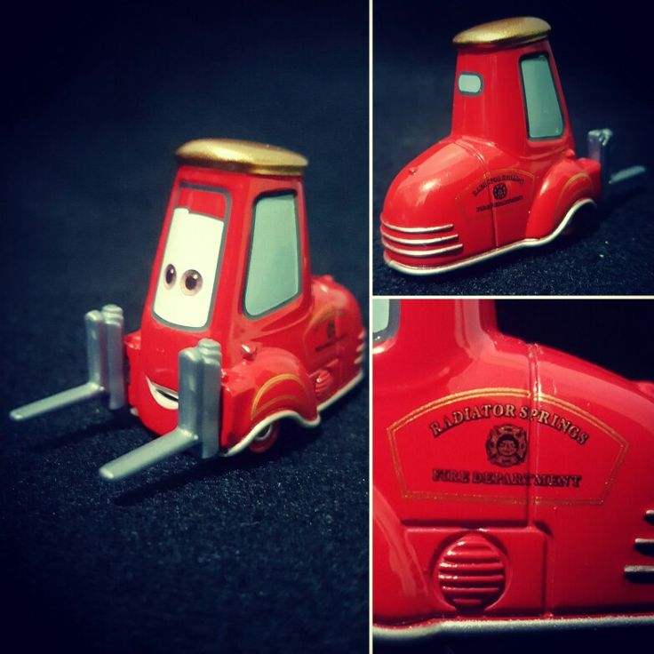 Guido from Cars. #Tomica diecast.