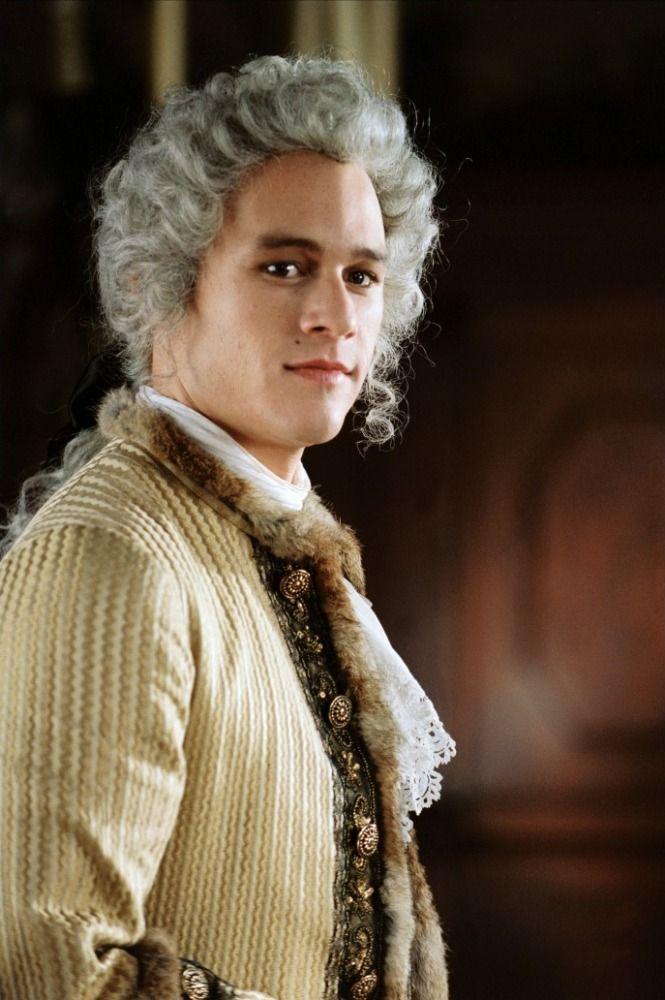 Men's baroque style costume (Heath Ledger wearing it)