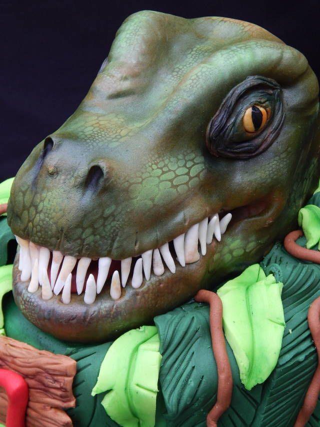 32 best Dinosaur cakes images on Pinterest Dino cake Dinosaurs