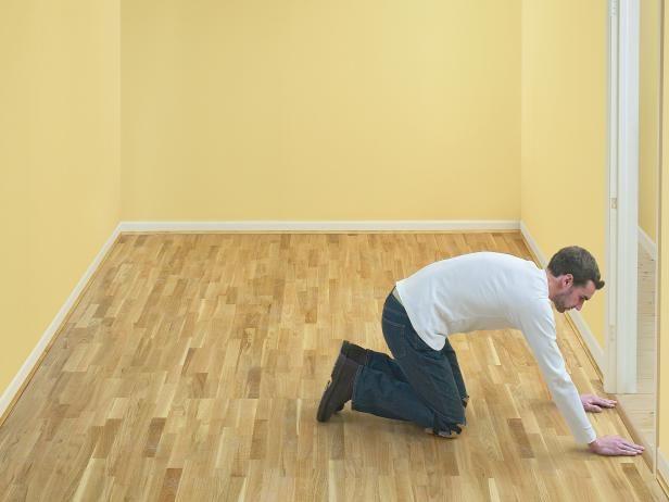 How to Install Click-Lock Laminate Flooring | how-tos | DIY
