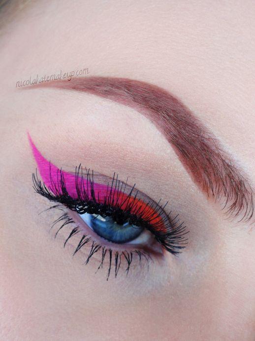 Nicola Kate Makeup: Neon Liner