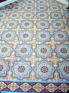 Mosaicos Calcareos Antiguos en Buenos Aires