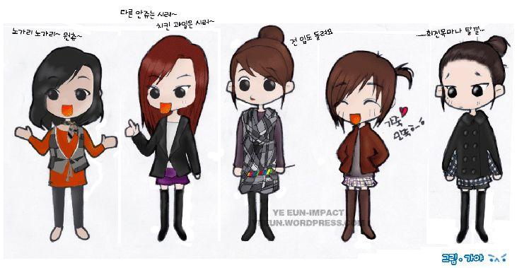Cartoons with 4 Girl Characters | Cartoon Girls (1 ...