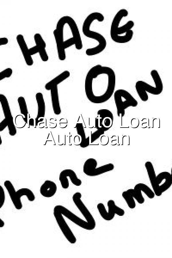 Chase Car Loan Number : chase, number, Chase, Number, Calculator, Calculator,, Loans,