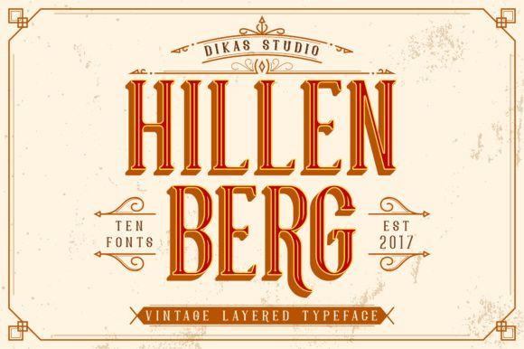 Hillenberg - Creative Fabrica