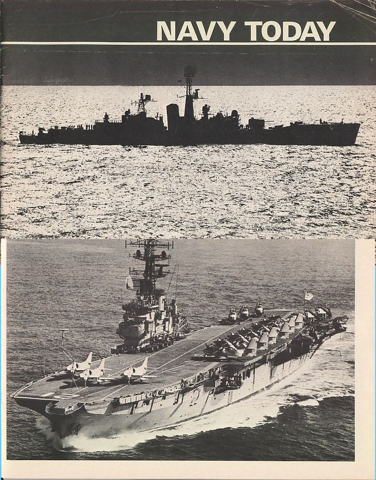 Royal Australian Navy ships described in the book: Aircraft Carrier (flagship), Guided Missile Destroyers, Destroyers, Destroyer Escorts, Submarines, Mine Warfare Ships, Patrol Boats, Troop Transport, Training Ship, Destroyer Tender, Fleet Oiler, Survey Ships. Aircraft covered: A-4G Skyhawks, S-2E Tracker, Westland Wessex ASW & SAR helicopters, Macchi trainers and Iroquois helicopters. Each ship and aircraft type is illustrated with a photo.