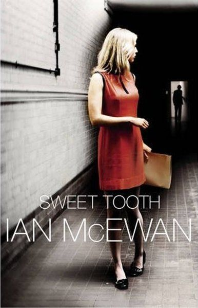This isn't the cover of the Canadian edition of Ian McEwan's book Sweet Tooth. This one is starker and more appealing. (And so far the book is as always with McEwan wonderfully written.)
