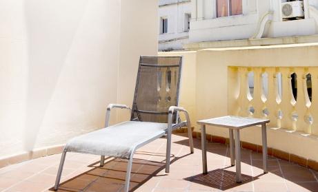 Hotel Catalonia Excelsior terrace - 3 star hotel in Valencia
