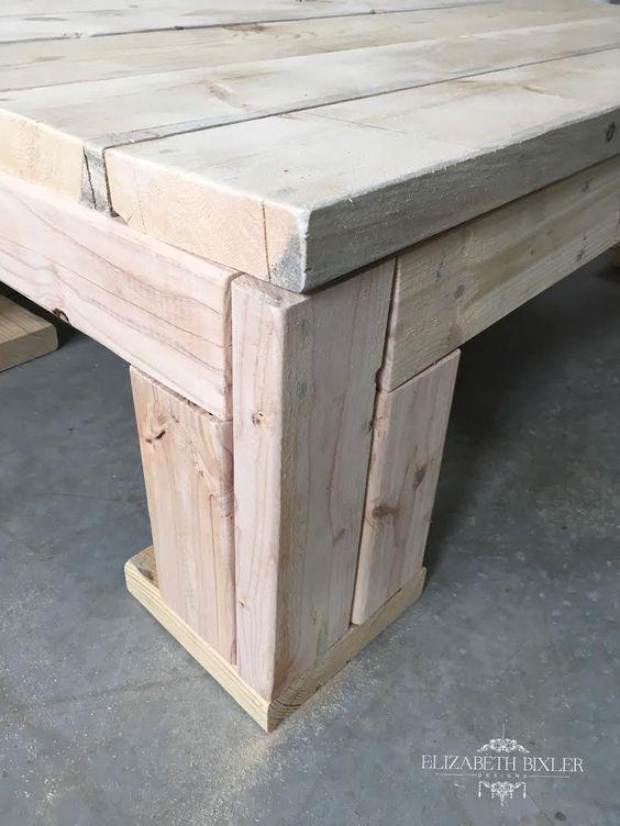 25 Wood coffee tables Pinterest