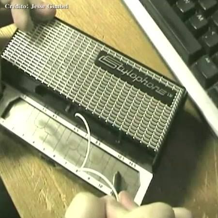 Inventado em 1967, o Stylophone é um sintetizador analógico que é tocado com uma caneta stylus e que foi introduzido pela primeira vez no mundo artístico profissional por Brian Jarvis.