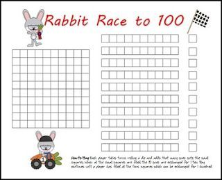 "FREE MATH LESSON - ""FREE Rabbit Racers: Race to 100 Game"" - Go to The Best of Teacher Entrepreneurs for this and hundreds of free lessons. Kindergarten - 3rd Grade   #FreeLesson   #Math    #Easter    http://www.thebestofteacherentrepreneurs.net/2016/01/free-math-lesson-free-rabbit-racers.html"