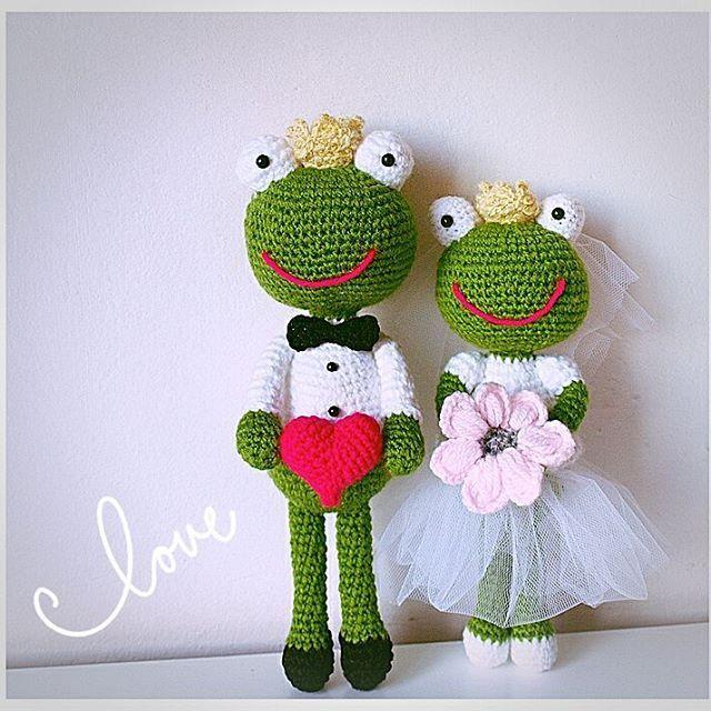 Ach, co to był za ślub...! #love #sweet #weeding #weedingdress #maz #zona #amigurumi #włóczaki #szydełko #crochet #kwiaty #slub #nazawsze #zabawki #upominek #instaweeding #instaweeding