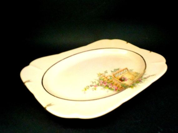WS George Argosy Pink Dinner Plate Luncheon by TheVintagePorch