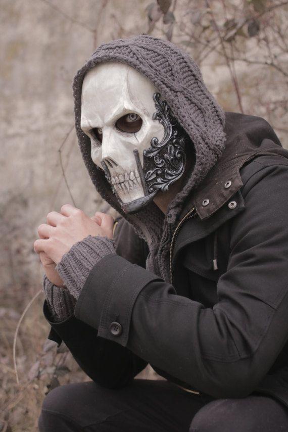 THE BARON Resin Skull Full-Face Mask by IvanKingArtShop on Etsy