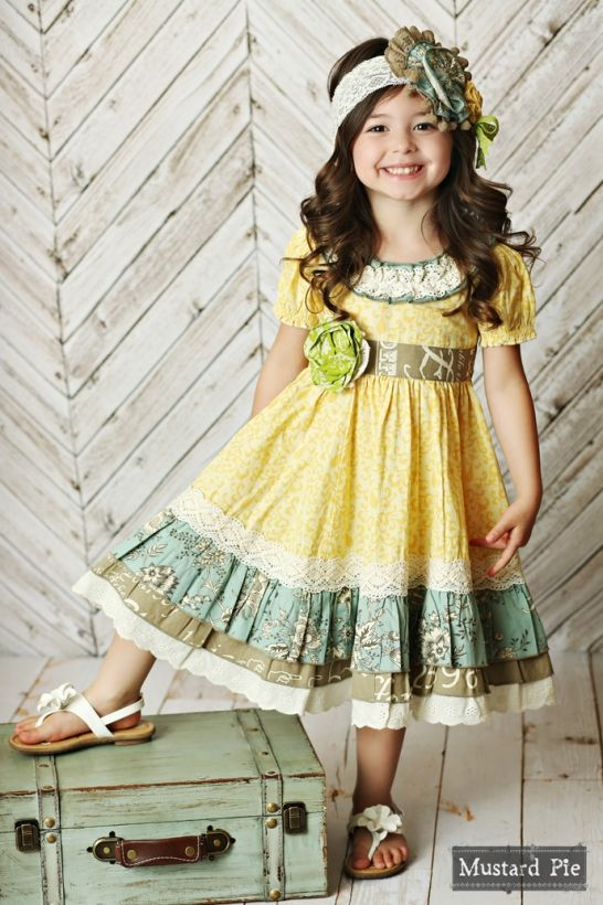 Shangri La Spring 2016 Mustard Pie Clothing Girl