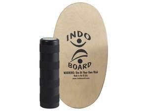 """Indo Board Mini Original Balance Trainer Natural 28x15 5""""R"""