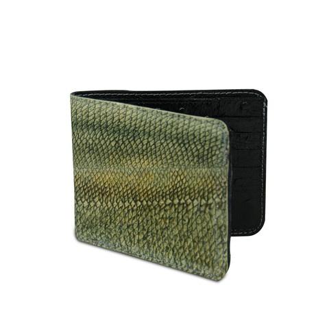 Genuine Walleye Fish Leather Wallet