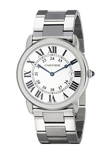 Cartier Ladies W6701005 Silver-Tone Stainless Steel Watch https://www.carrywatches.com/product/cartier-ladies-w6701005-silver-tone-stainless-steel-watch/  #cartier-cartierwatch-cartierwatches-#cartierwatch-#cartierwatches #ladieswatches #women #womenswatches - More Cartier ladies watches at https://www.carrywatches.com/shop/wrist-watches-for-women/cartier-watches-for-women/