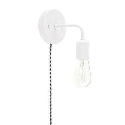 Downtown Minimalist Plug-In Wall Sconce   Barn Light Electric
