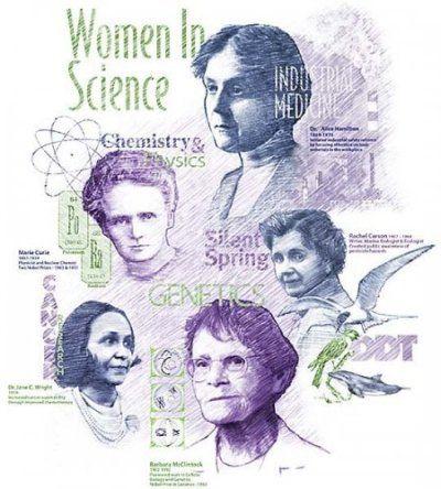 Bilim Kadınları Slaytı