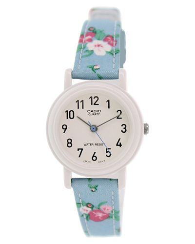 Casio Floral Pastel Blue Watch. Holiday gift ideas for her under $25. Christmas gifts for tween girls.