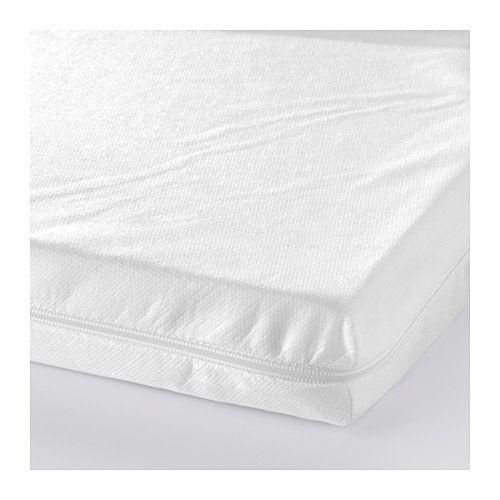 12,99€ !!!! VYSSA SLAPPNA Colchón para cuna, blanco 60x120 cm blanco