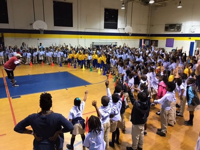 Zonda Kids Dance Had An Awesome Time Yesterday With Students From Imagine At Leeland Public Charter School In Upper M School Assemblies Kids Dance Dance School