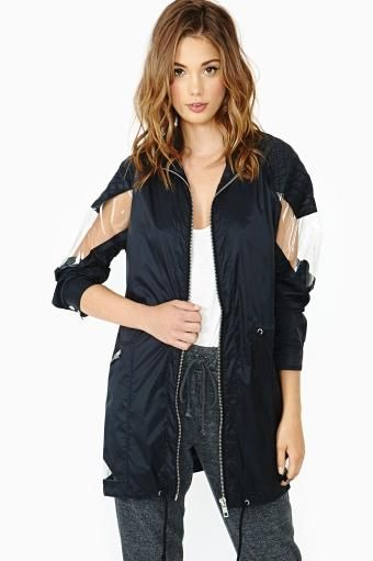 Sneak Peek Anorak By Nastygal F A S H I O N Fashion