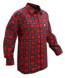 Pracovní pánská košile flanel KLASIC