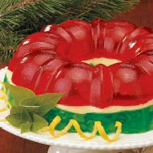 Christmas Gelatin Ring