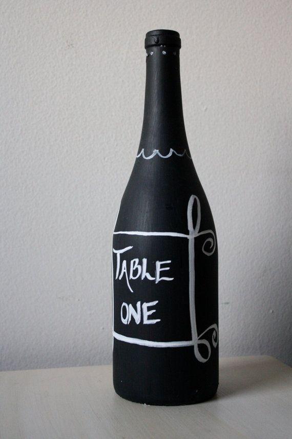 Chalkboard Wine Bottle