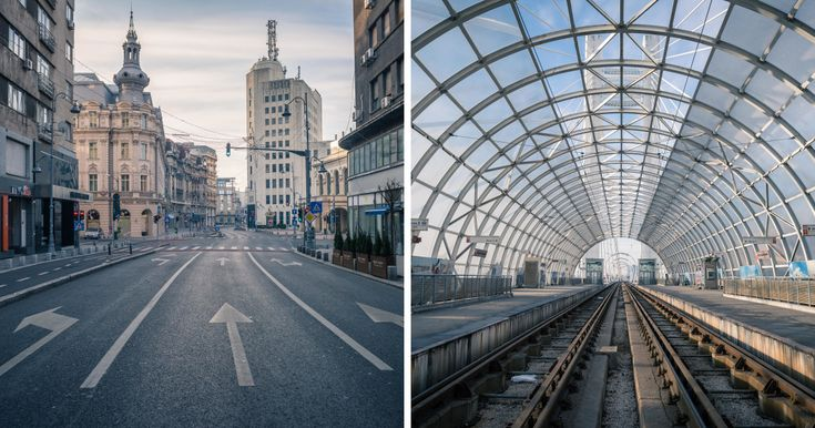 I Woke Up At 7am On January 1st To See Bucharest's Empty Streets | Bored Panda