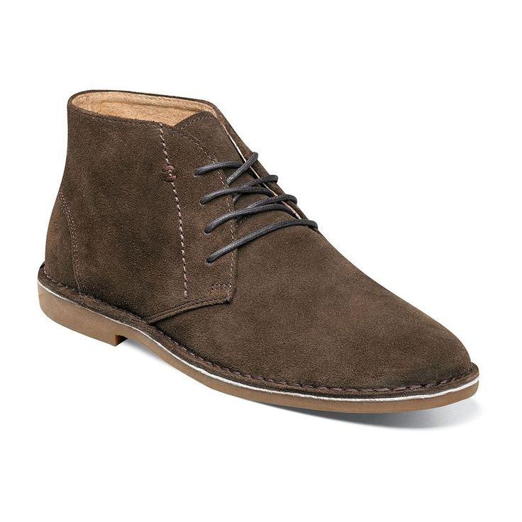 Nunn Bush Galloway Men's Suede Chukka Boots, Size: medium (11.5), Brown Oth