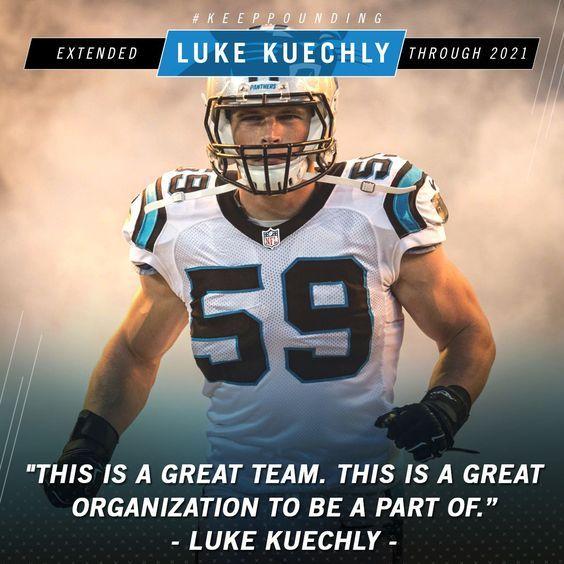 Carolina Panthers #59 Luke Kuechly
