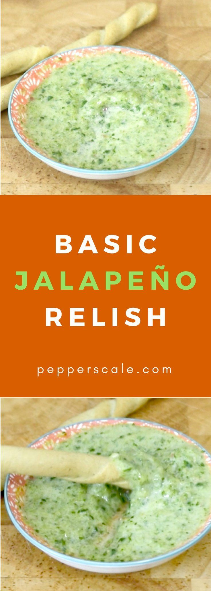 Basic jalapeño relish adds some spicy zip to hamburgers and hot dogs. Get the #recipe via @pepperscale