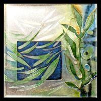http://www.carolyndelzoppo.com.au/ <p>Framed Miniature <br />Spring Wind<br />2008<br />60mm x 60mm (320mm x 260mm framed)<br />Cloisonne enamel on fine silver</p> <p>Sold</p>