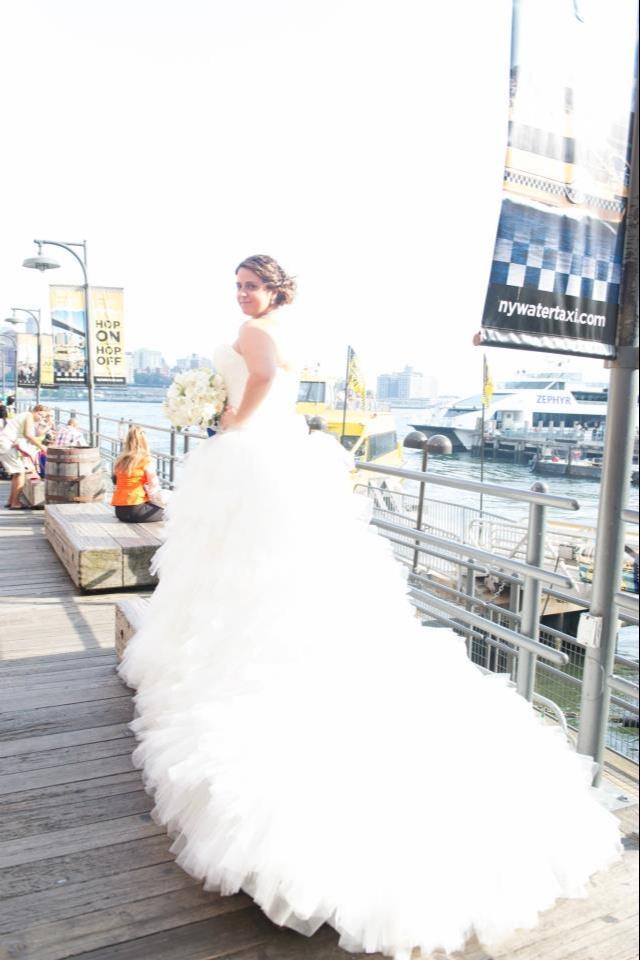 My Maggie Sottero Ivanka Marie wedding dress