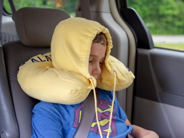 transforms into a neck pillow