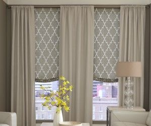 18 Charming Unique Roman Shades Inspiration