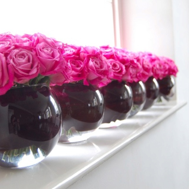 Black And Pink Wedding Ideas: 17 Best Images About